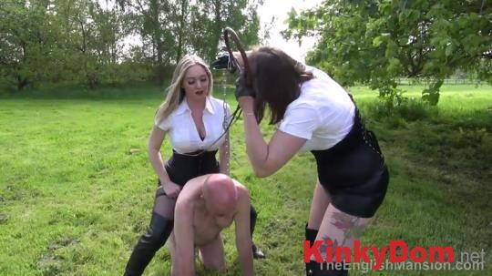 TheEnglishMansion - Bullwhipping Bitches Part 1 [720p] (Femdom)